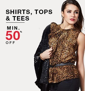 Amazon Fashion Sell on Shirt, Tops and Tees 50% OFF